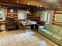 Obývací místnost. - chalupa ubytování Rokytnice nad Jizerou - Vilémov