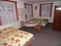 pokoj v přízemí (1. ložnice)