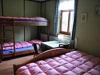 jeden z 8 pokojů chalupy