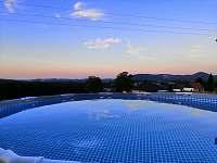 vila Anežka bazén - ubytování Žacléř