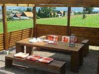 vila Anežka terasa - pronájem Žacléř