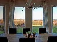vila Anežka výhled jídelní stůl - k pronajmutí Žacléř