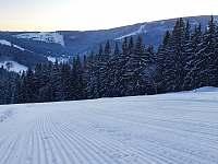 upravená sjezdovka - Pec pod Sněžkou