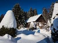 Privát u Lesa - zima v Rokytnici