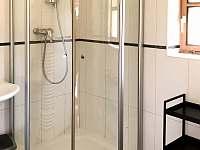 Koupelna v přízemí se sprchovým koutem - Prkenný Důl