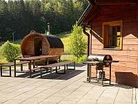 Sudová sauna - chata ubytování Prkenný Důl