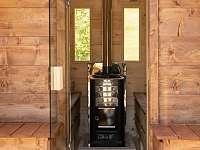Sudová sauna pro 4 lidi - chata k pronájmu Prkenný Důl
