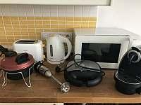 Vybavení kuchyňskéhou koutu - apartmán k pronájmu Rokytnice nad Jizerou