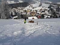 Zima plná sněhu - Rokytnice nad Jizerou