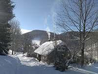 zima 2017 - chalupa ubytování Prkenný důl