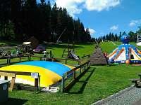 Park pro děti - chalupa k pronajmutí Harrachov