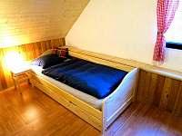Jednolůžko s velkou přistýlkou v 1. ložnici - Poniklá - Jilem