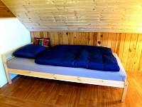 Jednolůžko v 1. ložnici - pronájem chaty Poniklá - Jilem