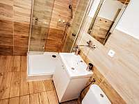 Koupelna - chata ubytování Poniklá - Jilem