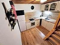 Plně vybavená kuchyně - chata k pronajmutí Poniklá - Jilem