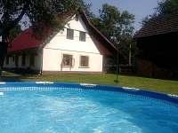 Chalupa k pronajmutí - dovolená  Trutnov - Pekelský rybník rekreace Rudník - Javorník