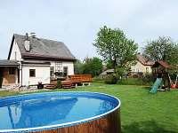 Bazén na zahradě - chalupa k pronajmutí Vrchlabí 3 - Podhůří