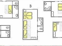 Křížlice - chata k pronájmu - 14
