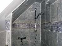Sprchový kout - chalupa k pronájmu Horní Olešnice - Zadní Ždírnice