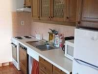 kuchyně - chalupa ubytování Černý Důl - Čistá v Krkonoších