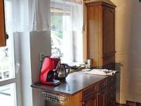 kuchyně - kávovar - chalupa k pronájmu Černý Důl - Čistá v Krkonoších