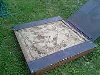 Venkovní pískoviště - chalupa k pronájmu Rudník