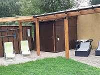 odpočinkový kout - chata k pronajmutí Dolníky u Trutnova
