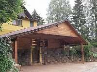 parkoviště - chata ubytování Dolníky u Trutnova