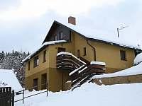 v zimě - chata k pronajmutí Dolníky u Trutnova