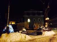 Apartmán Pod Jasanem v zimě