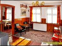 Obývák - chalupa ubytování Nejdek