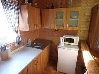 Kuchyně - chata k pronajmutí Boleboř