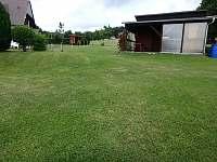 Zahrada - chata k pronajmutí Boleboř