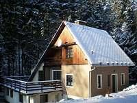 v zimě je u nás jako v pohádce - pronájem chaty Úbočí - Místo
