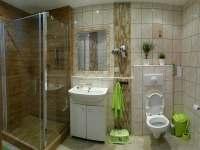 Koupelna - apartmán k pronajmutí Jáchymov