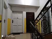 Chodba - apartmán ubytování Jáchymov