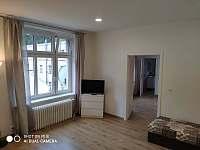 Obývací pokoj - apartmán k pronajmutí Jáchymov