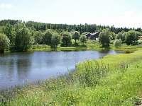 Penzion Dukla Mariánská - rybník -
