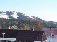 Výhled z okna na Plešivec