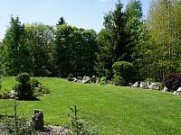 Zahrada - chalupa ubytování Tisová u Nejdku
