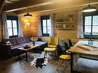 Roubenka obývací pokoj