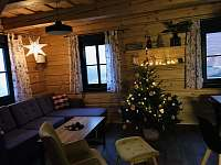 Vánoce v roubence - chalupa k pronajmutí Bublava