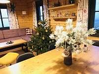 Vánoce v roubence - pronájem chalupy Bublava