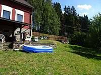 Bazének pro děti - chalupa k pronájmu Kraslice - Tisová