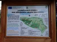 Loupežnická stezka 200 metrů nad chalupou - Kraslice - Tisová