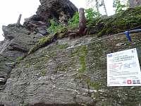 Loupežnická stezka - detailní pohled na Ferratu - Kraslice - Tisová