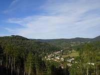 Loupežnická stezka - panoramata - chalupa k pronájmu Kraslice - Tisová