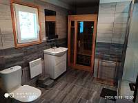 Koupelna - chata k pronajmutí Svahová