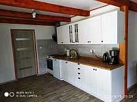 Kuchyňská linka - chata k pronajmutí Svahová