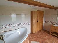 Koupelna v 1.patře - Bublava